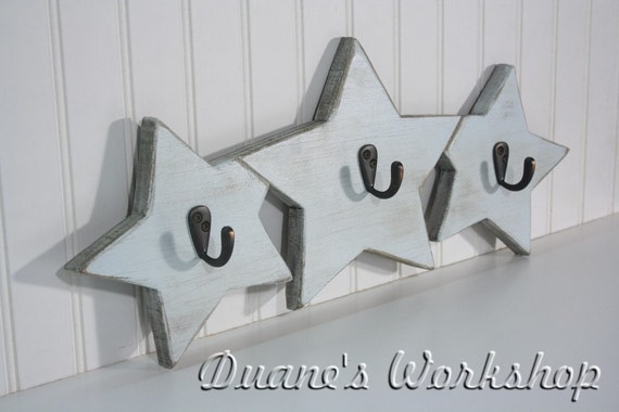 Star, Wooden Star, Coat Rack, Wooden star, wall hanging, wooden sign, home decor, wall, Housewares, Wall Decor