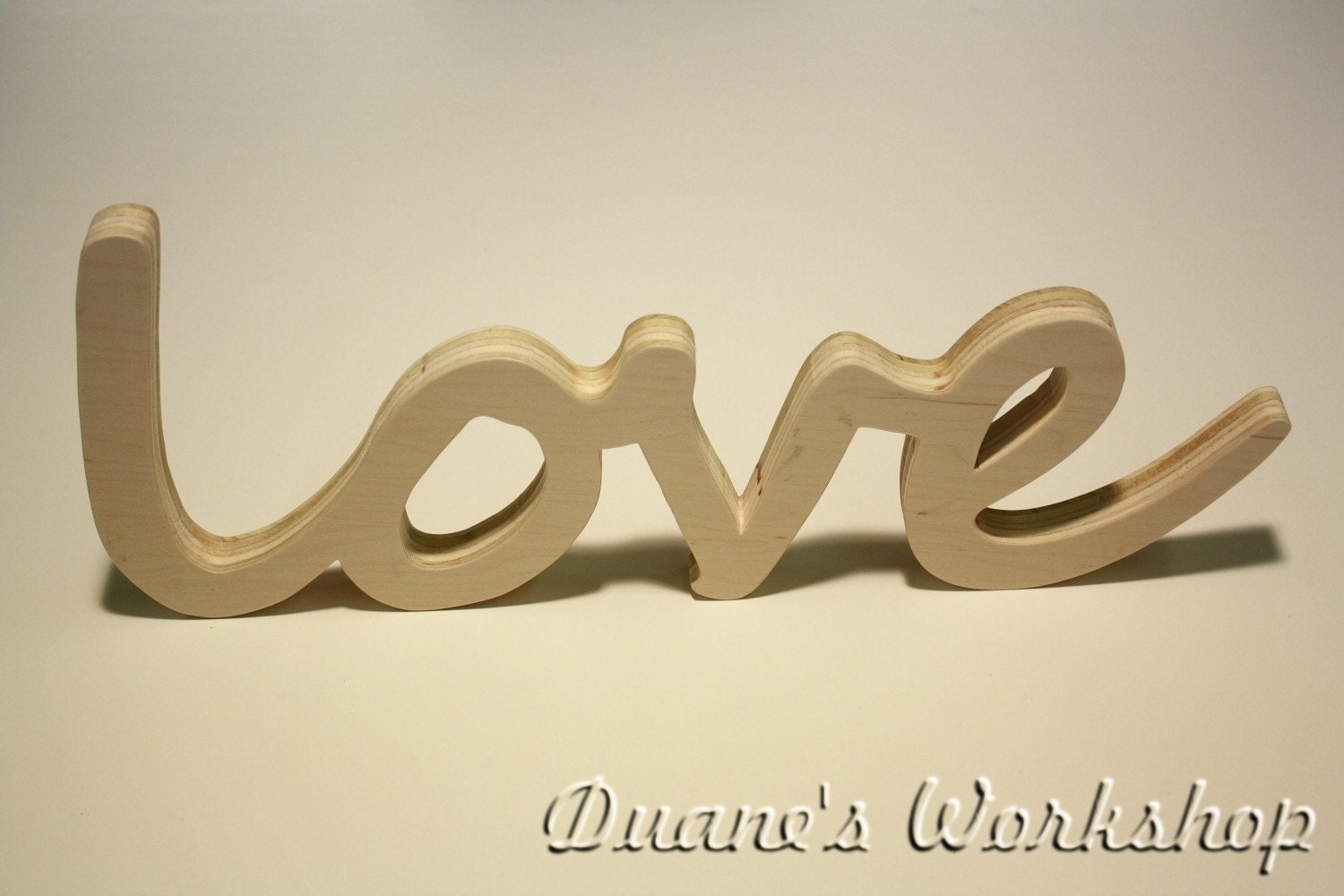 Love sign diy wall hanging wooden believe sign wooden for Love sign