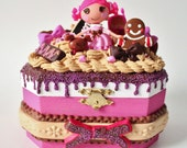 Reserved Listing for Visanee :) Lalaloopsy cocoa cuddles jewelry box.