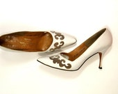 Jacques Heim 50s Vintage Designer High Heels 7 - Wedding