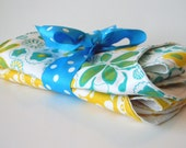 Bib & Burp Cloth Gift Set, 2 of each