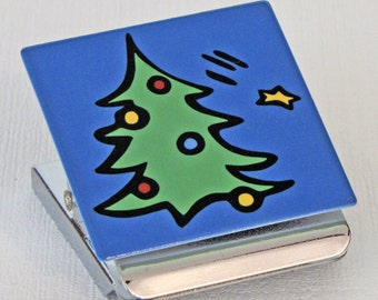 Christmas Tree Clip Magnet