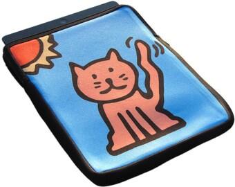 Cat iPad 1, 2 and 3 Neoprene Zippered Case - 50% Off iPad Case Sale
