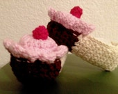 Cupcake Slippers for Baby/Toddler