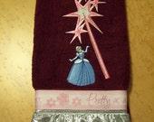 Cinderella Bathroom Hand Towel