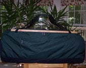 """Lands End Camp Duffel 48"""" Evergreen  """"HUGE""""  at an Amazing Price LOOK"""