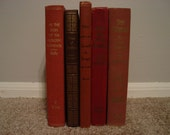 Collection of 5 Vintage Books
