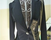A 012  1 set Vintage handmade epaulet / shoulder loop,vintage brooch, clothes accessory