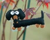 Super Cute Dachsund Wiener Dog Ornament
