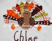 Ribbon Turkey Shirt - Personalized