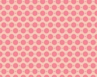 SALE Riley Blake Designs - Sweet Nothings Sweet Dots in Pink - 1yd