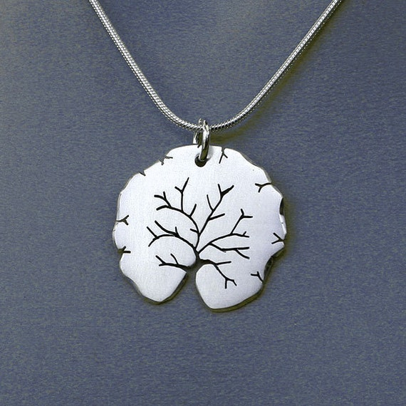 "Silver Jewelry, ""Summer Tree Pendant"", Silver Jewellery."