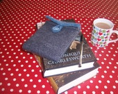 CUSTOM ORDER - knitted kindle case