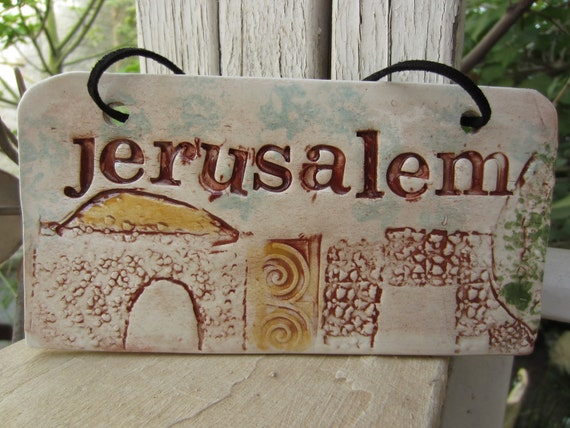 Jerusalem  Wall Hanging
