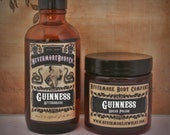 Aftershave Sugar Scrub SALE Guinness Set for Him Nevermore Body Company Cyber Monday Natural Vegan