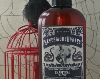 Soap Chapiteau Pump Liquid Hand Soap Violet Vanilla Patchouli Sandalwood Musk