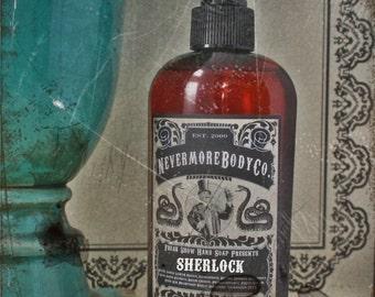 NEW Sherlock Pump Liquid Hand Soap Orange Rose Vanilla Lavender