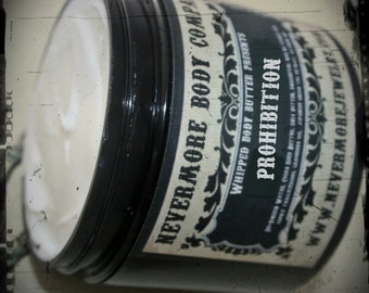 NEW Prohibition whipped body butter lotion Vegan citrus clove wheat ale