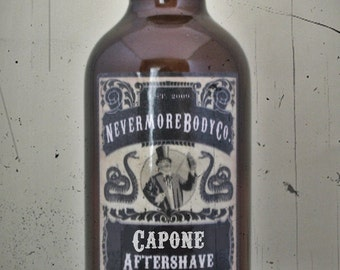 Capone Mens Aftershave  Nevermore Body Company Rum