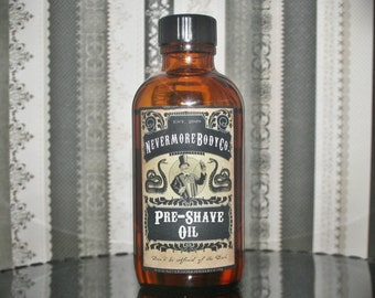 Beard Oil Pre Shave Oil Your Choice Men Shaving Nevermore Body Company Natural Sensitive