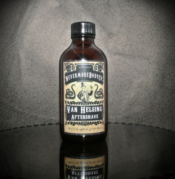Van Helsing Aftershave Nevermore Body Company Men's Shaving