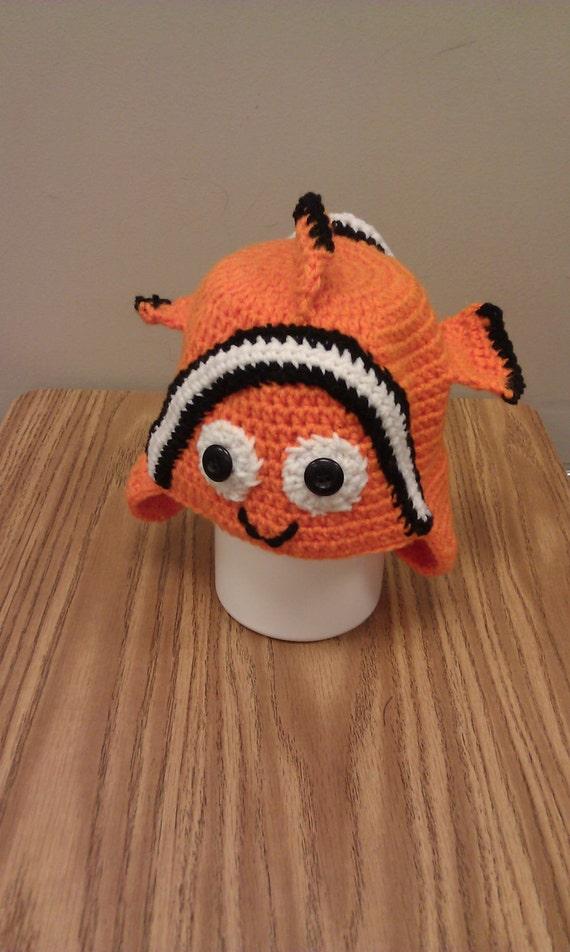 Items similar to Crochet Nemo Hat on Etsy