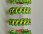Teenage Mutant Ninja Turtles Paracord Bracelets - Four Bracelet Set - PRICE REDUCED