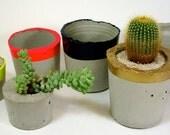 Custom Handmade Modern Cement Planter