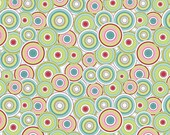 Love Birds by Riley Blake - Multi Colored Circles - 1 yard