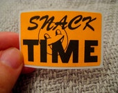 20 'snack TIME' stickers