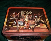 KISS lunch box  w/ thermos1977