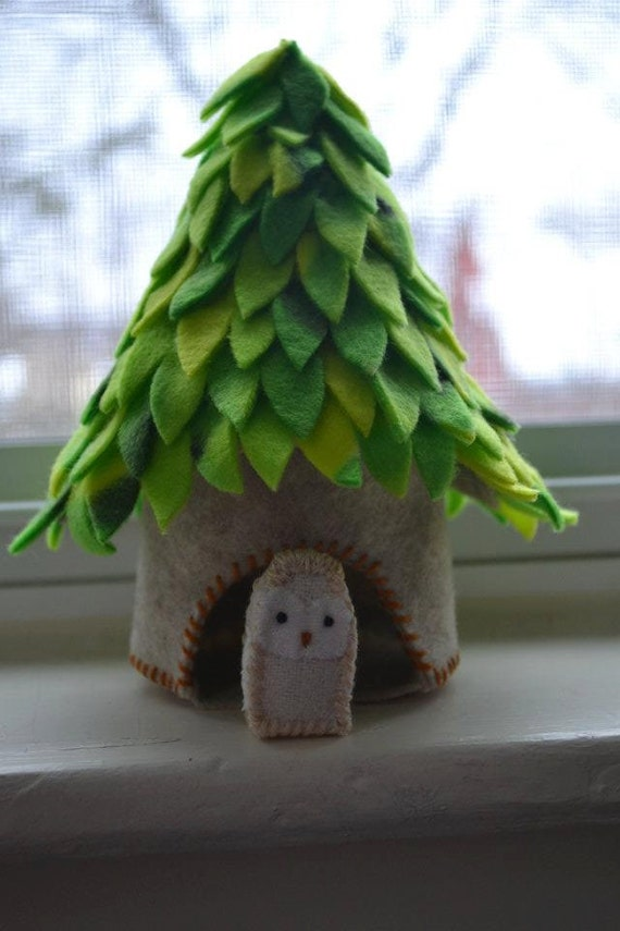 Owl in a Tree House