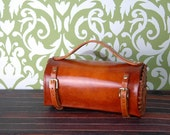 The Molly McGuire : Handmade Steampunk Leather Purse  FREE SHIPPING