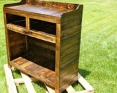 Reclaimed Pallet Wood Furniture- Entertainment Stand