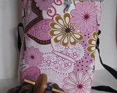 Fiber and Spindle Bag - Pink Spring