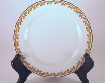 HAVILAND & CO FRANCE Limoges, 4 Salad Plates, 101 1 Pattern China Bread Plates, Antiques