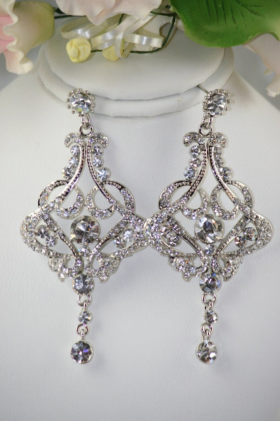 Rossa wedding chandelier bridal earrings