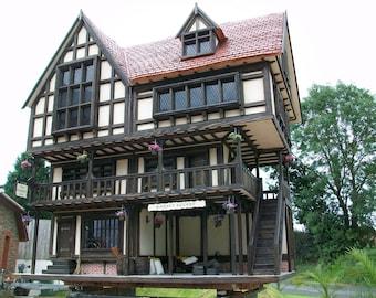 Bespoke Handmade Collectors Tudor Dolls House
