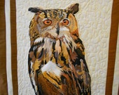 Eagle Owl Wallhanging