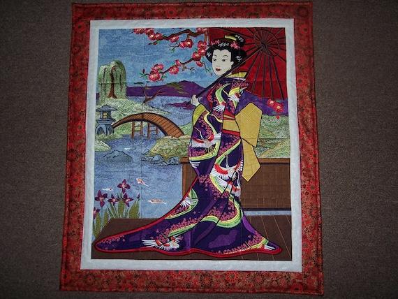 Geisha Girl Wallhanging