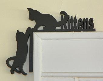 Kittens Door & Window Topper