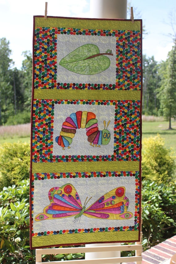 SALE Hungry Little Caterpillar Wall Hanging