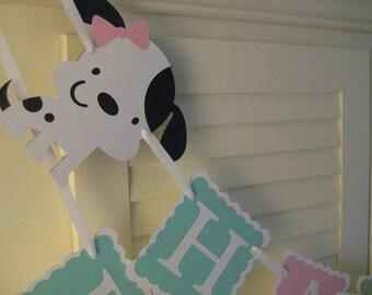 Puppy Birthday Banner