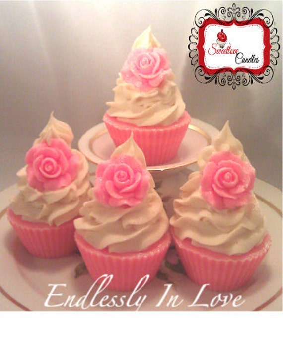 Endlessly In Love Cupcake Soap