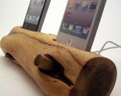 iphone Double Dock / Sierra Red Wood