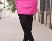 HotHot Pink Mini Skirt