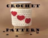 Crochet Pattern PDF, Coffee Cozy ,Coffee Sleeve, Tea Cozy, Cup Warmer, Crochet Cozy, Easy, Great for Beginners,Pattern No. 14