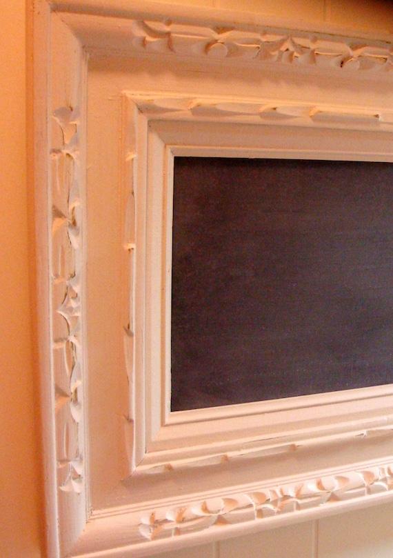 Handmade Chalkboard in Vintage Frame