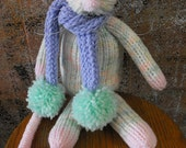 Pastel Knitted Rat RESERVED Amber