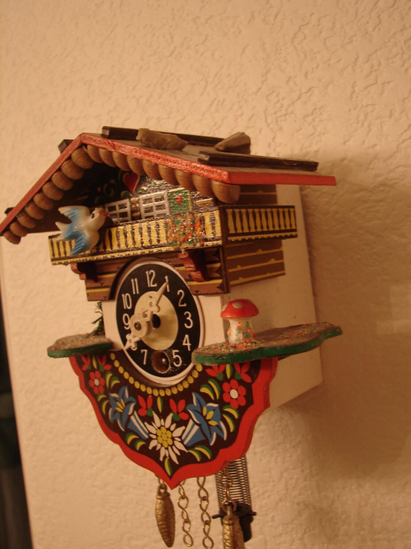 Sale Vintage Cuckoo Clock Switzerland